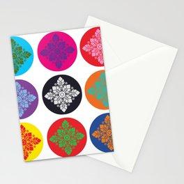 Thai Line Art 01-3 Stationery Cards