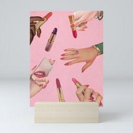Lip Service Mini Art Print