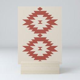 Southwestern Minimalism - Scarlet Red Mini Art Print