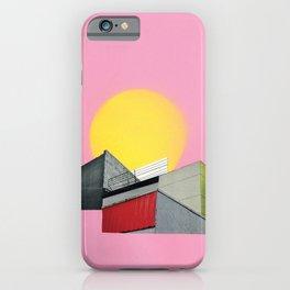 Neon Roof Top iPhone Case
