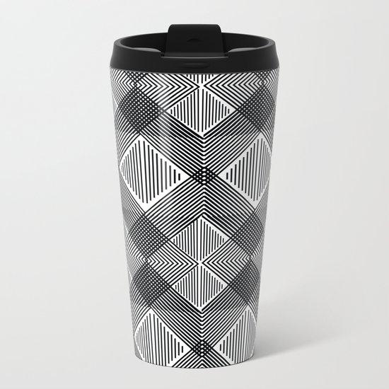 Pattern K 10 Metal Travel Mug