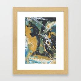 Senza sonno Framed Art Print