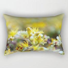 Yellow Sedum Rectangular Pillow