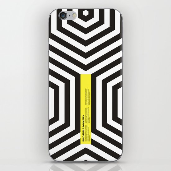 Impossible Symmetry - Cebra iPhone & iPod Skin