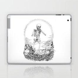 Death and Harmonica Laptop & iPad Skin