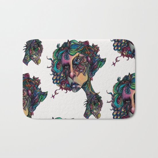 All in The Colors Bath Mat