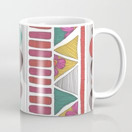 Floral Tribal Pattern Coffee Mug