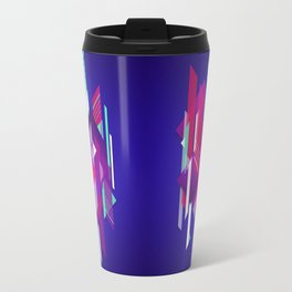 Shattered and Stained Travel Mug