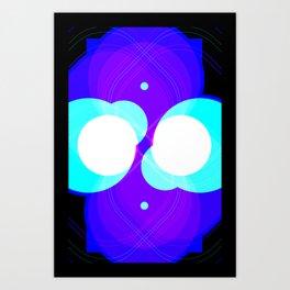 Chrome I Art Print
