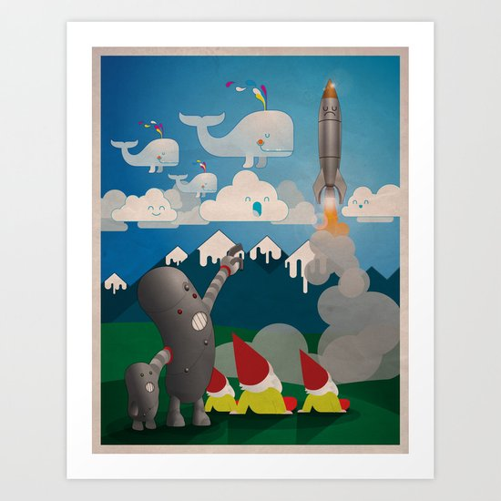 Meet Raveland 02 Art Print