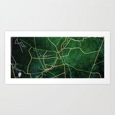 Grantham Art Print