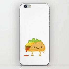 Happy Taco iPhone Skin
