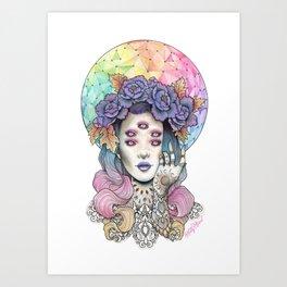 Echelon Art Print