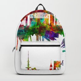 Hamburg Germany Skyline Backpack