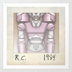 R.C. - 1984 Art Print