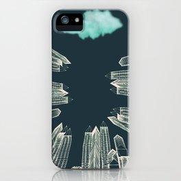 Dark Area iPhone Case