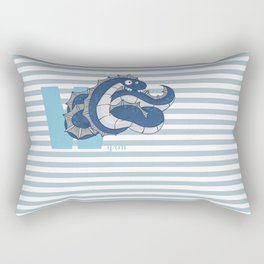 w for wyrm Rectangular Pillow