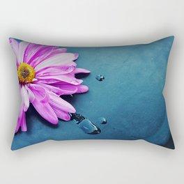 pink Flower From New York  Rectangular Pillow