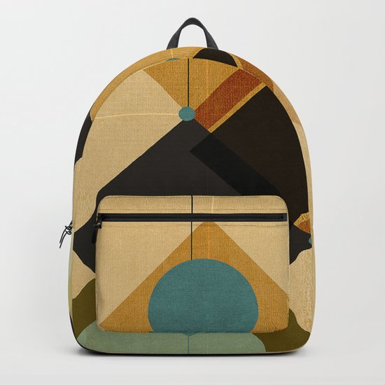 Geometric/Abstract 3 Backpack