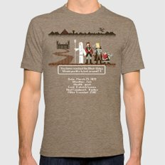 Aragorn Trail Tri-Coffee Mens Fitted Tee X-LARGE