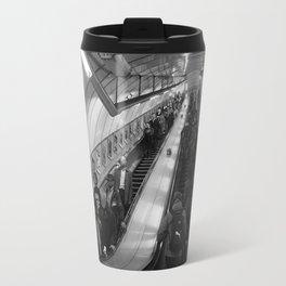 faceless escalators Travel Mug
