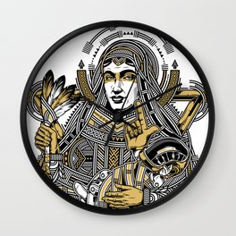 mother of punk Wall Clock