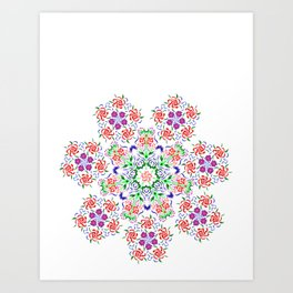 Polish Pattern Art Print