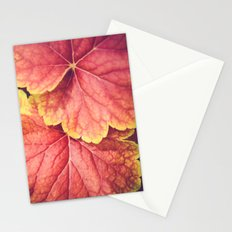 Two Leaves Stationery Cards