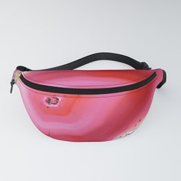 Ghostly Pink Agate Fanny Pack