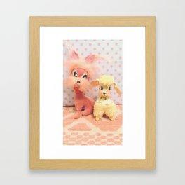 laverne and fifi Framed Art Print