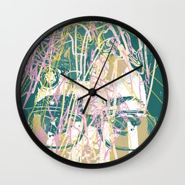 Brainblast Wall Clock