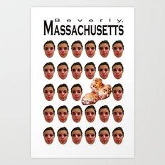 Beverly, MA Art Print