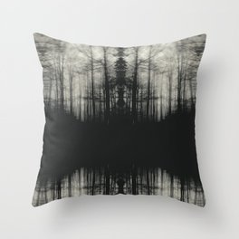 The Lurking Fear II Throw Pillow