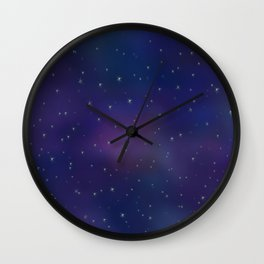 Mystical Sky Wall Clock