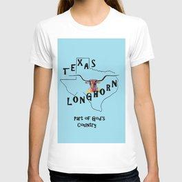 Texas Longhorn God's Country T-shirt
