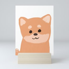 Shiba Inu Mini Art Print