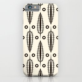 "Art Deco . ""Delicate leaves "". iPhone Case"