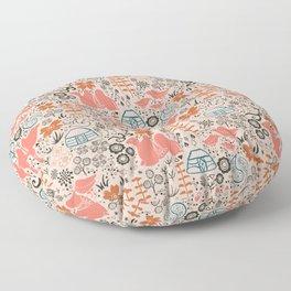 Mongolian Expanse Pattern Floor Pillow