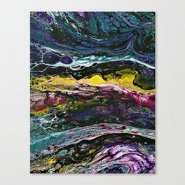 Fluid Art 2 Canvas Print