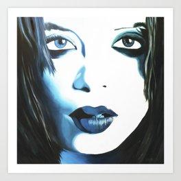 Shirley Manson Art Print