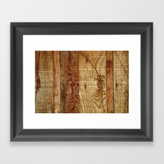 Wood Photography Framed Art Print