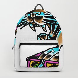 Chrome panther Backpack