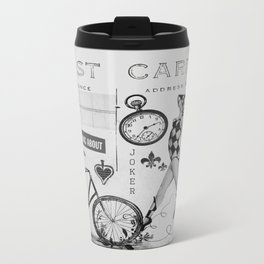 Lady Joker Metal Travel Mug