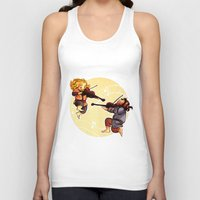 fili Tank Tops featuring Fiddling Fili and Kili by quelm