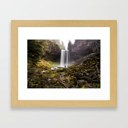 Tamanawas Falls Framed Art Print