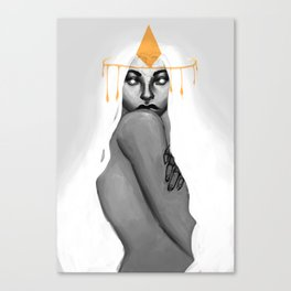 Gold Ghost Canvas Print