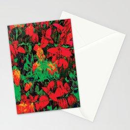 Flora Celeste Ruby Floral  Stationery Cards