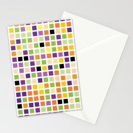 City Blocks - Eggplant #490 Stationery Cards