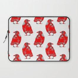 tri crows redgrey Laptop Sleeve