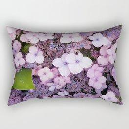 Bain Ave Flowers Rectangular Pillow